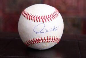 GFA Minnesota Twins PAUL MOLITOR Signed Rawlings GU MLB Baseball P2 COA