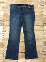 Jordache Women's Blue Jeans Size 16 Bootcut Good Condition