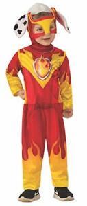 Rubies PAW Patrol Mighty Pups Marshall Dogs Childrens Halloween Costume 701044