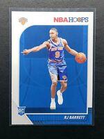 2019-20 Panini NBA Hoops RJ Barrett RC, Rookie Card, New York Knicks