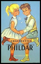 Buvard Publicitaire, Chaussettes PHILDAR - inusables
