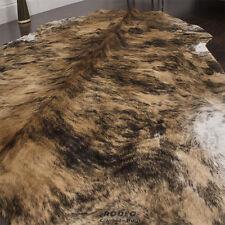 Rodeo cowhide rug Brown Brindle 5x7