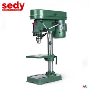 Bench Drill Press Mounted 5 Speed Electric Operation Table Stand Base NEW