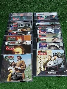 Talking Classics CD Audio Book Collection x 23 - 46 CD's - FREE UK POST
