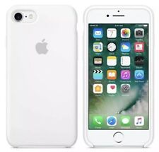 "Apple iPhone 7, 4.7"" White Silicon Case Slim Great Handling Original Cover White"