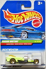 HOT WHEELS 1999 TREASURE HUNT LIMITED EDITION RIGOR MOTOR INTERNATIONAL CARD