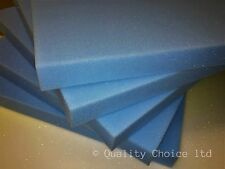 """Reflex Blue Foam - Luxury Seating Grade Foam - 50 blocks at 6 x 6 x 2"""""""