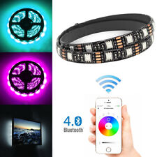 1M RGB LED Strip Wireless Smart Bluetooth Control Car SUV Light Lamp USB Powered