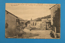 Alsace Bas-Rhin Alsace 67 AK CPA St. Maurice 1916 Village Maison fermes rue 1.wk