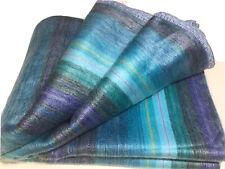 Alpaca Blanket - Soft & Warm S. American - Woolly Llama Exclusive Crochet Edging