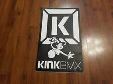 "Kink Bike Co. BMX Ramp Jump Sticker - Decal - 11"" X 18"" Box Jump"