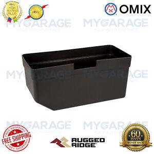 Omix-ADA For 72-86 Jeep CJ5 / CJ6 / CJ7 / CJ8 Glove Box Insert Black - 13316.01