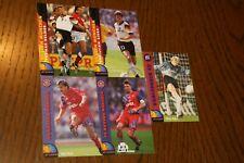 Trading Card / Sammelkarten 5 x Panini 1994 - FC Bayern München / KSC