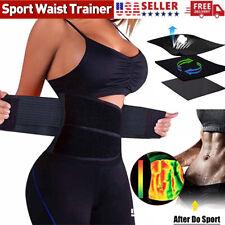 Sport Waist Trainer Weight Loss Sweat Thermo Wrap Body Shaper Belt for Men Women
