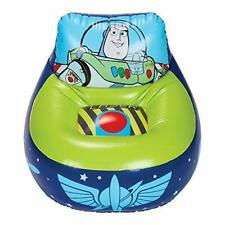 Toy Story 4 Kids Buzz Lightyear Inflatable Gaming Chair, Blue and Green