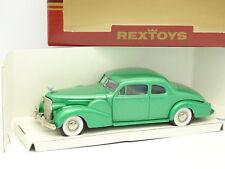 RexToys 1/43 - Cadillac V16 Coupe 2 Portes 1940 Verte