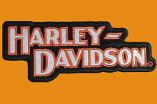 HARLEY DAVIDSON Block H-D Name REFLECTIVE 5 INCH HARLEY PATCH