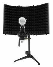 Rockville RCM03 Pro Studio Recording Condenser Microphone Mic+Shock Mount+Shield