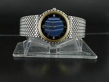 Japan Seiko Credor pattern dial 18K Gold/SS tu-tone bracelet dressing watch