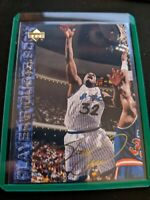 Shaquille O'Neal Shaq 1994-95 Upper Deck Player Quote Book #49 Gold Auto Magic