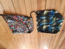 2 Reebok bag sport Draw cord closure for an adjustable fit