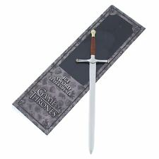 Game of Thrones Ice Letter Opener Authentic Noble Collection - House Stark