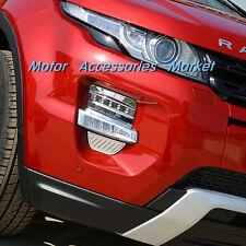 New Chrome Front Fog light Cover Trim For Land Range Rover Evoque 2012-2015
