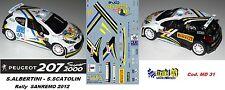 PEUGEOT 207 S2000 -  ALBERTINI  -  Rally SANREMO  2012