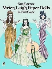 Vivien Leigh Paper Dolls in Full Color (Paperback or Softback)