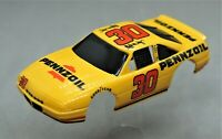 HO Slot Car Body - Tyco 440x2  Wide-Pan Body - Pennzoil NASCAR Grand Prix