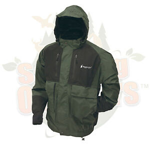 S SM Frogg Toggs Frog Toggs Green Firebelly Toadz Toad Jacket Rain Gear Wear