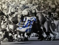 NEBRASKA FOOTBALL HUSKER CHRISTIAN PETER SIGNED AUTOGRAPHED PHOTO UCLA TACKLE