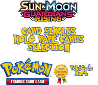 Pokemon Sun & Moon Guardians Rising Rare Holo & GX Card Singles Selection
