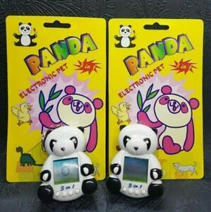 Tamagotchi Tamagochi PANDA 3 pets in 1 VERY RARE ORIGINAL