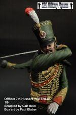 CGS French Hussar Officer Waterloo 1815 1/9th Bust Unpainted kit CARL REID