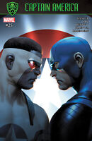 CAPTAIN AMERICA #25 SAIZ VARIANT EDITION  FALCON CAPTAIN AMERICA