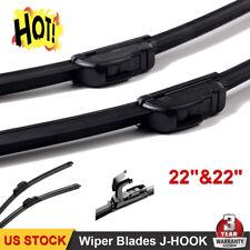 """22"""" & 22"""" Inch Ford F150 F250 F350 F450 OEM Quality Beam Windshield Wiper Blades"""