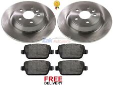 FOR FORD KUGA (2008-2012) REAR BRAKE DISCS AND PADS SET **NEW**