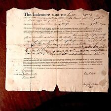 Important On the Hudson River New York Indenture 1805