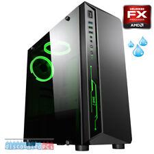 LiquidCooled AMD fx-8350 Ocho Núcleos 8gb Escritorio Pc Ordenador ATI - Barebone