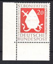 20 Pf Bonifatius Mi. 199 ** Ecke 3 Luxus!
