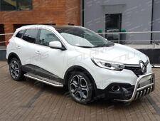 Renault Kadjar 2015+ | MARCHE-PIEDS INOX PLAT / PROTECTIONS LATERALES