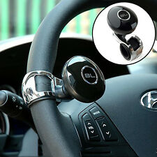Universal Car Steering Wheel Aid Handle Power Assister Spinner Knob Ball Black
