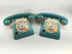"""NOT WORKING"" Durhams 1977 HOLLY HOBBIE TELEPHONE SET Vintage Rare"