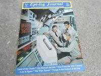#2 EPI-LOG JOURNAL television magazine ( UNREAD - NO LABEL) CITY BENEATH THE SEA