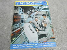 #2 EPI-LOG JOURNAL television magazine ( UNREAD - NO LABEL) CITY BENEATH THE SEA
