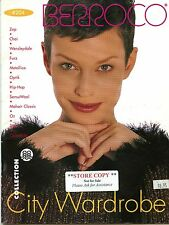 "Berroco Knitting Pattern Booklet #204 City Wardrobe - ""Store Copy"" - 14 Designs"