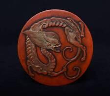 Exzellent Chinese antike alte Tintenstift Markenname signiert, wohl um 1900
