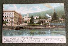 CPA. BAD EMS. Allemagne. 1903. Kaiser Wilhelm Kirche u. Konigl Bade Anstalt.