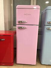 FIVE5CENTS Retro Kühl - Gefrierkombination Pink Kühlschrank NEU